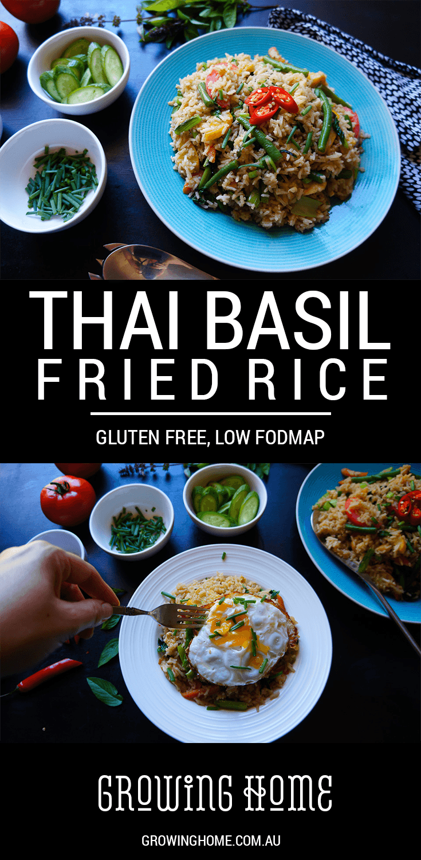 Thai Basil Fried Rice Gluten Free Low Fodmap Growing Home